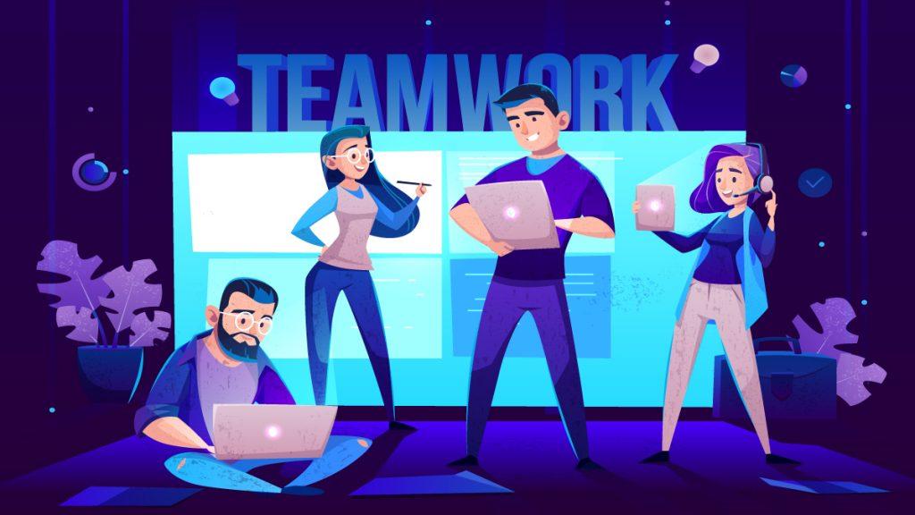 استعداد فردی و کار تیمی